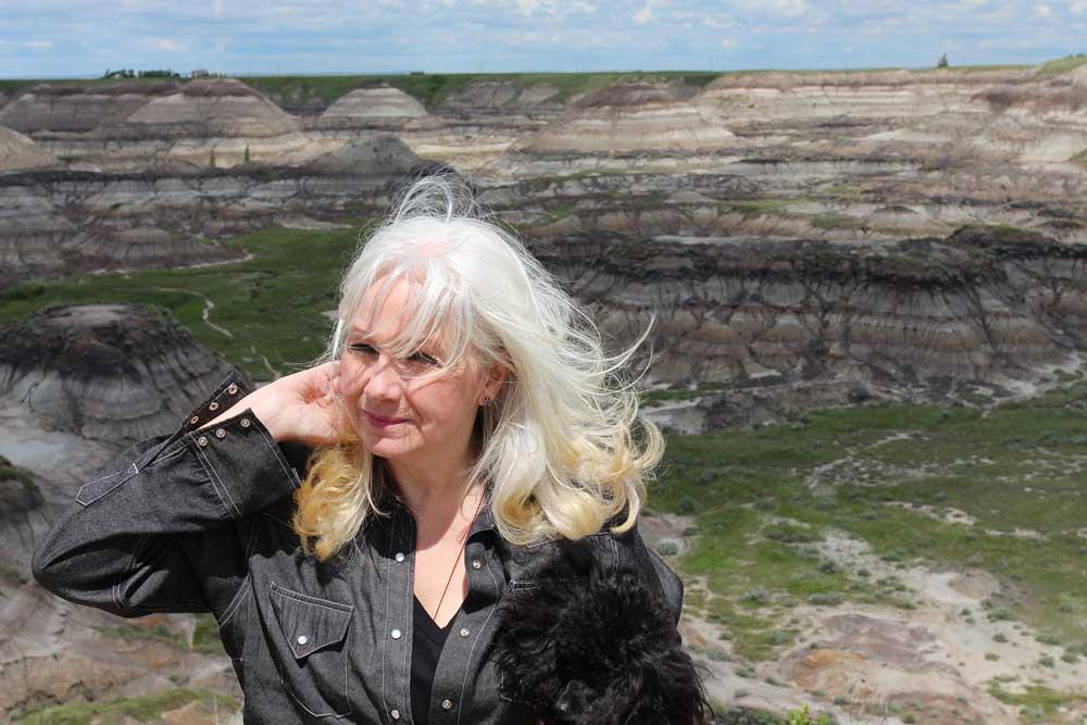 Photo of Sheri-D Wilson, The Mama of Dada