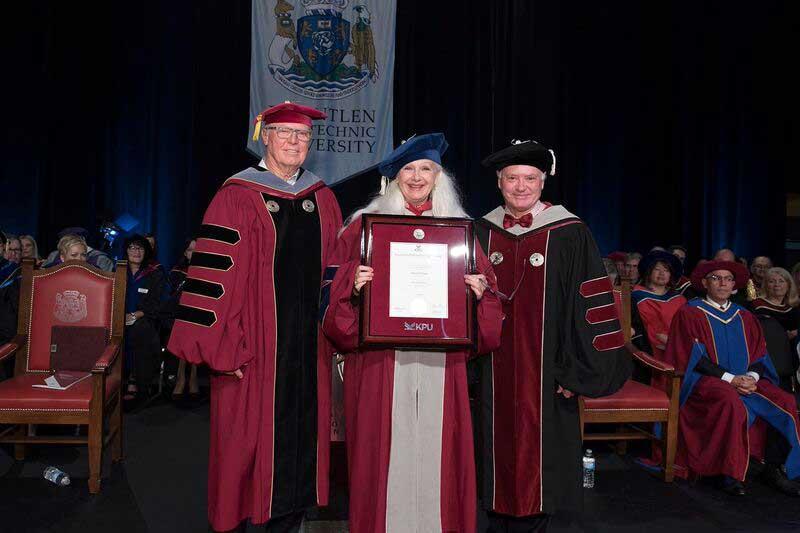 Sheri-D Wilson - Honorary Degree