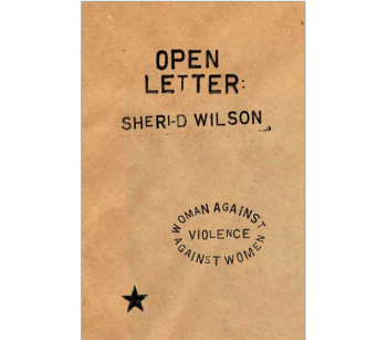 Open Letter: Woman Against Violence Against Women | Sheri-D Wilson