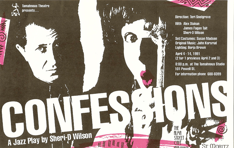 Confessions: A Jazz Play   Sheri-D Wilson Plays