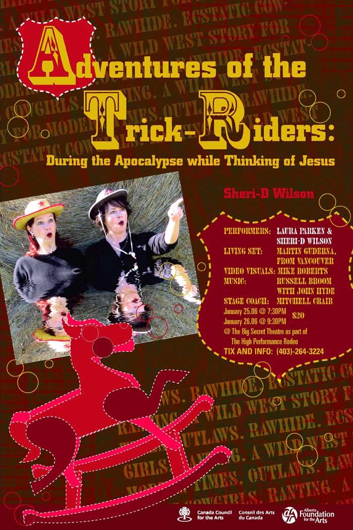 Adventures of the Trick Riders   Sheri-D Wilson
