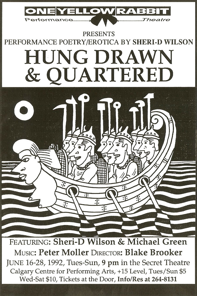 Hung Drawn Quartered | Sheri-D Wilson