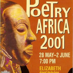 2001 Poetry Africa Cover