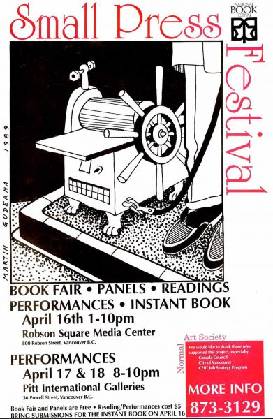 Small Press Fesitval Poster
