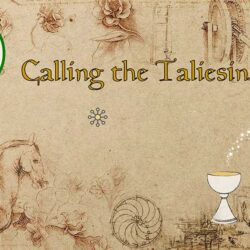 Calling the Taliesin video poem featured image | Sheri-D Wilson