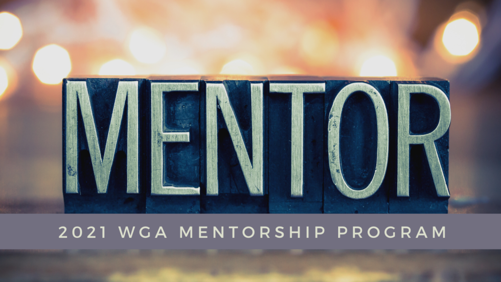 WGA 2021 mentorship program