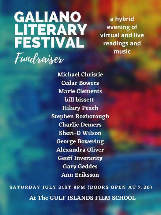 Galiano Literary Festival | Sheri-D Wilson